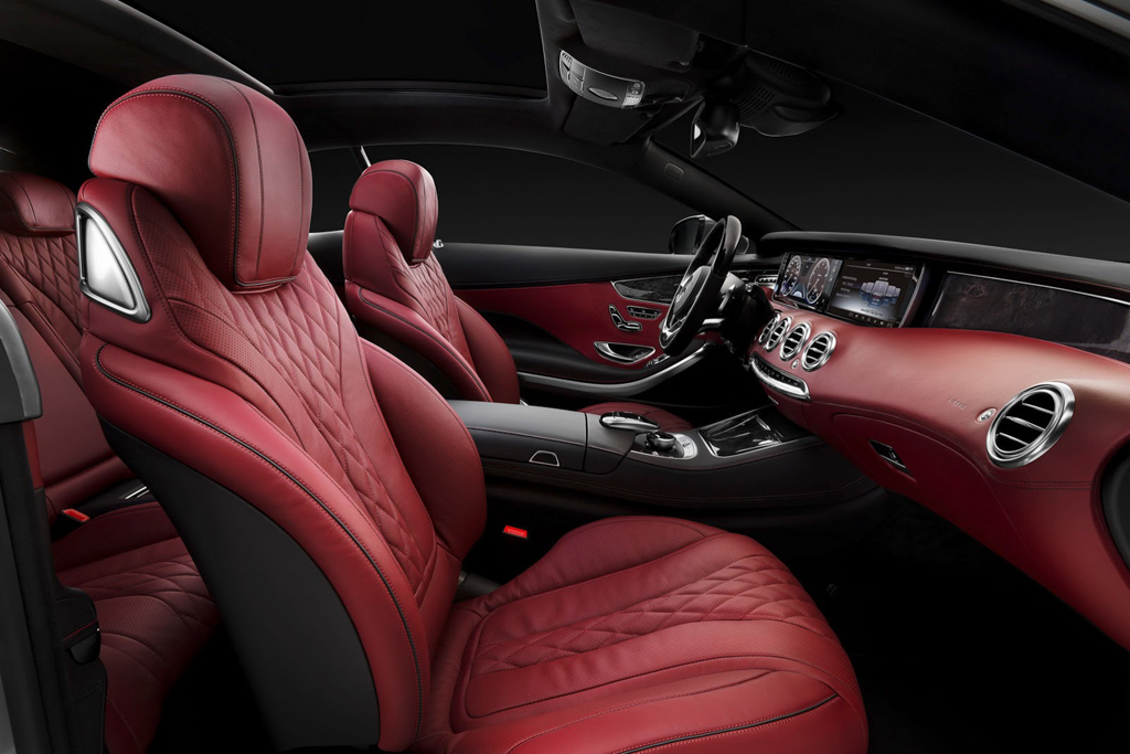 2015 Mercedes S500 Coupe Interior 2 Mercedes launches 9G Tronic transmission with 2015 S Class Coupe