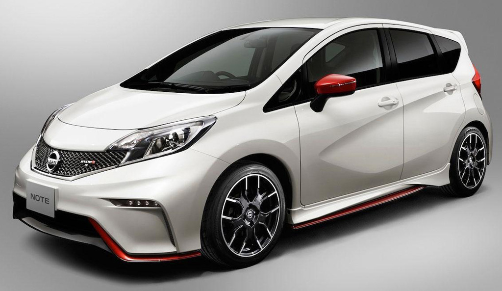 2015 Nissan Note Nismo 1 Nissan rolls out '2015 Nismo Note'