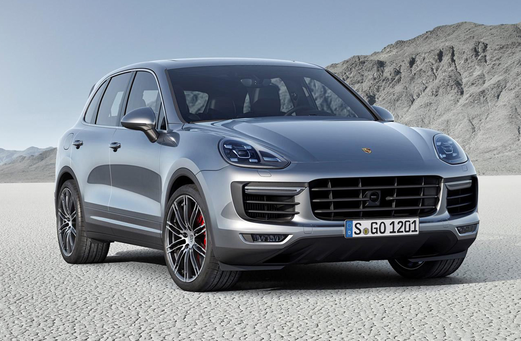 2015 Porsche Cayenne Third generation 2015 Porsche Cayenne ready for the road