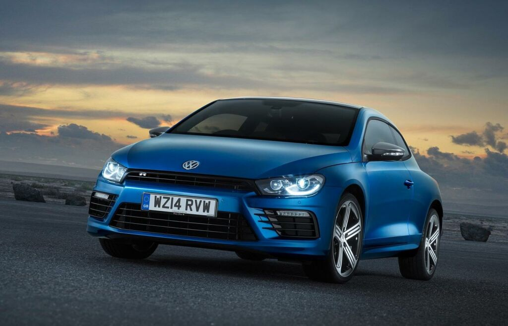 2015 Volkswagen Sicorcco facelift 1 Volkswagen 'Scirocco' coming to UK in October