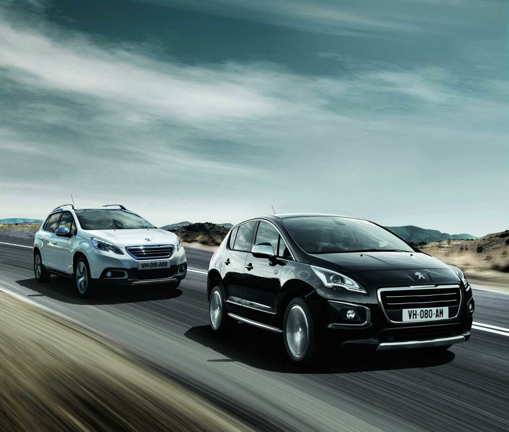 Peugeot 2008 and 3008 Crossway Peugeot reveals Crossway special editions for 2008 and 3008