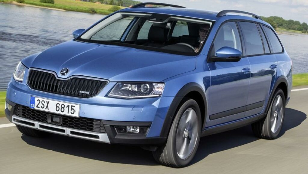 Skoda Octavia Scout 1 2014 Skoda Octavia Scout ready to hit the road