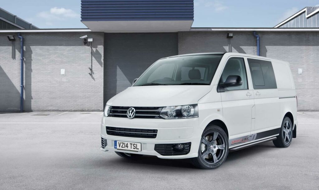 Volkswagen Transporter Sportline 60 Special Edition Volkswagen launches 2015 special edition of 'Transporter Sportline' in UK