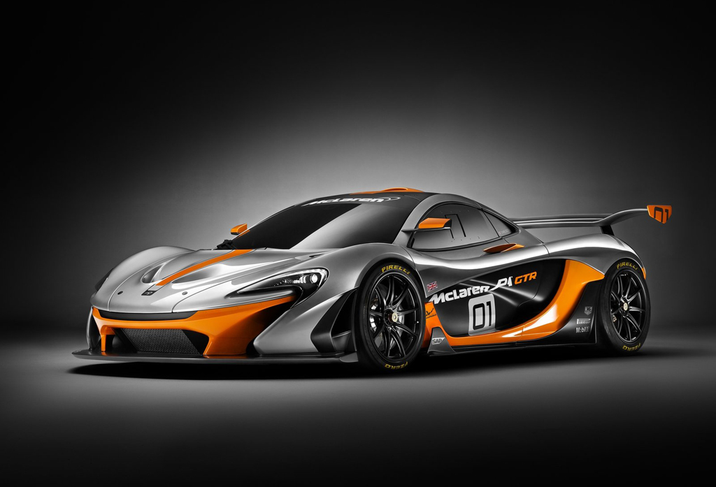 2014 McLaren P1 GTR Concept 1 McLaren ready with limited production 2014 Concept Car 'P1 GTR'