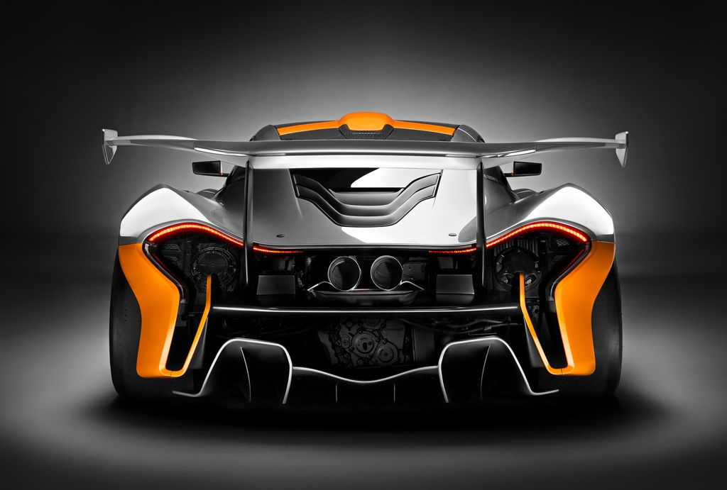 2014 McLaren P1 GTR Concept 5 McLaren ready with limited production 2014 Concept Car 'P1 GTR'