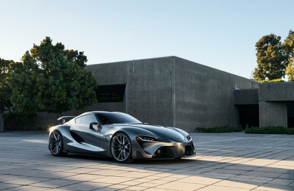 2014 Toyota FT 1 Graphite Concept 1 2014 Toyota FT 1 Graphite Concept
