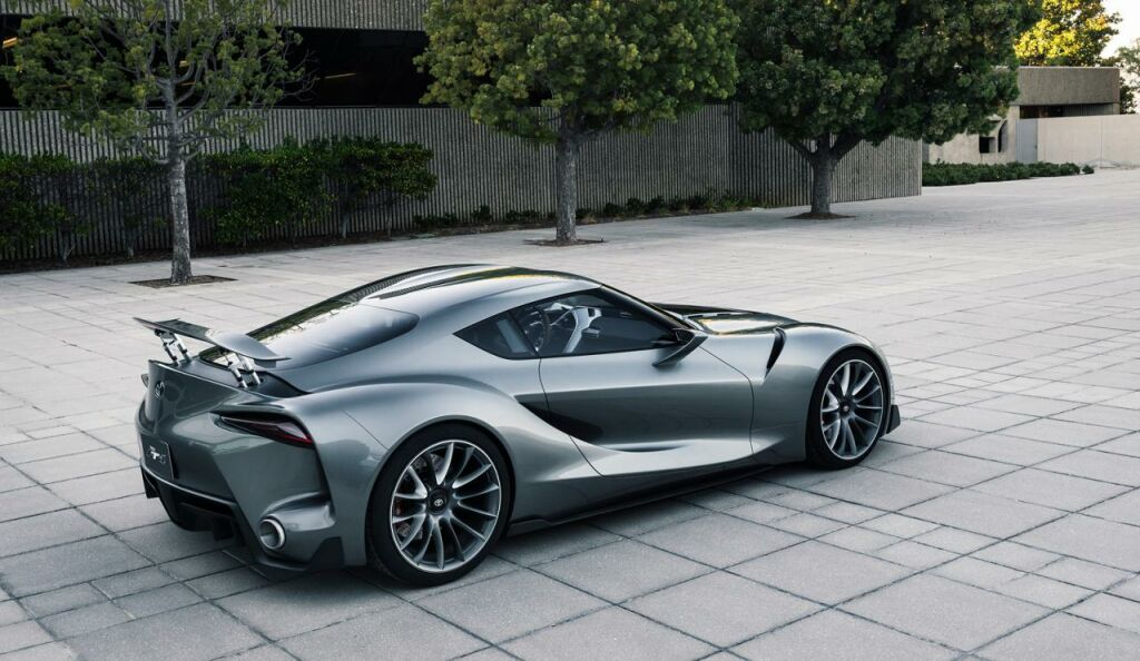 2014 Toyota FT 1 Graphite Concept 4 2014 Toyota FT 1 Graphite Concept