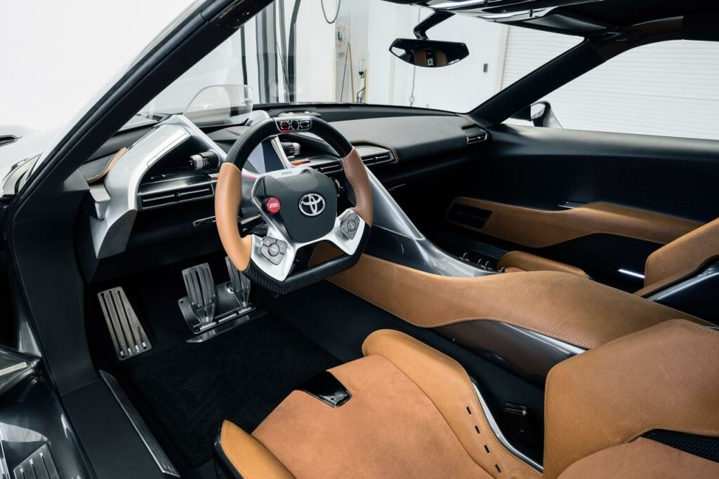 2014 Toyota FT 1 Graphite Concept Interior 3 2014 Toyota FT 1 Graphite Concept