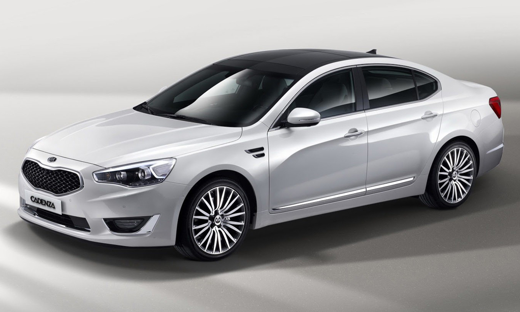 2015 Kia Cadenza Kia updates the 2015 Cadenza