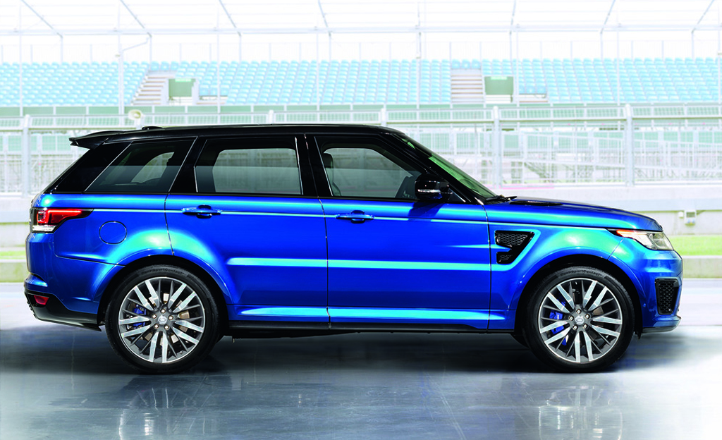 unleashed 2015 land rover range rover sport svr. Black Bedroom Furniture Sets. Home Design Ideas