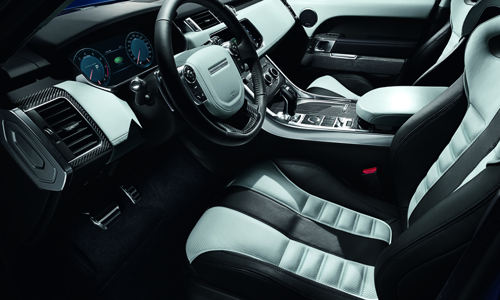 Land Rover Range Rover Sport Svr Interior on range rover sport interior space