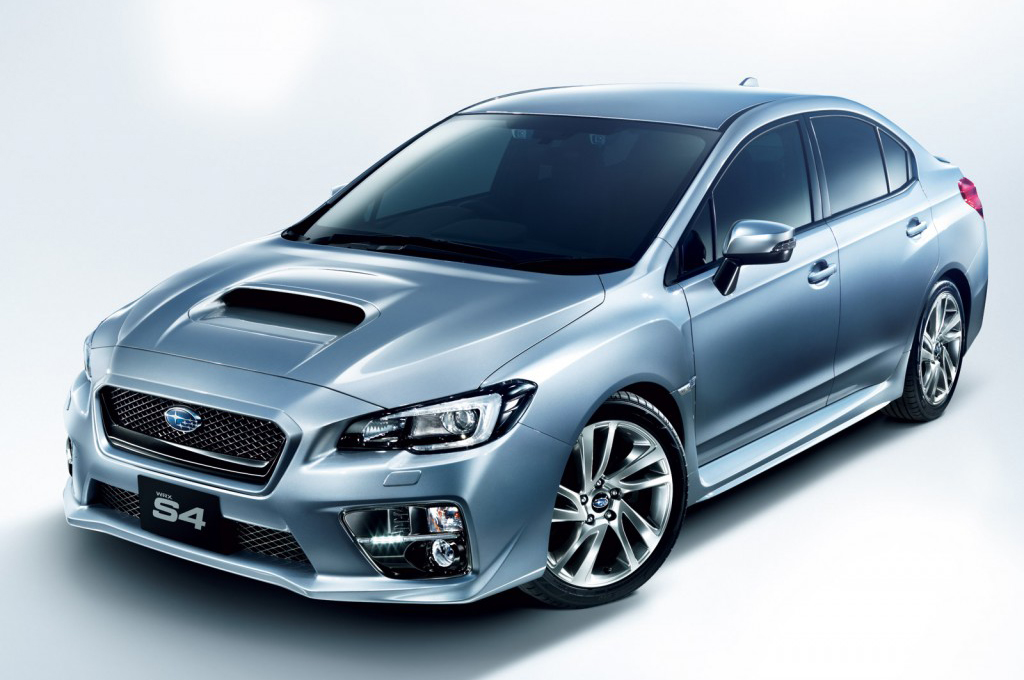 2015 Subaru WRX S4 4 Subaru Launches 2015 WRX S4 In Japan