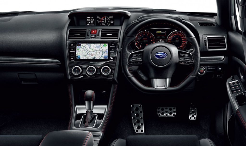 2015 Subaru WRX S4 Interior 1 Subaru Launches 2015 WRX S4 In Japan
