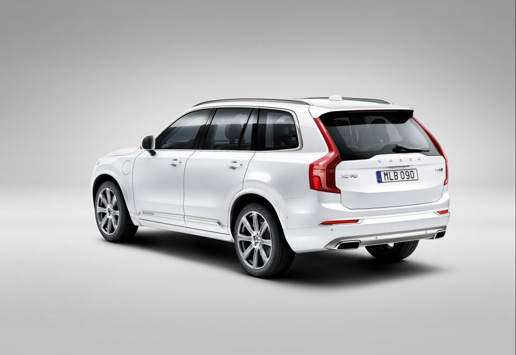 2015 Volvo XC90 4 Volvo unveils second generation '2015 XC90'