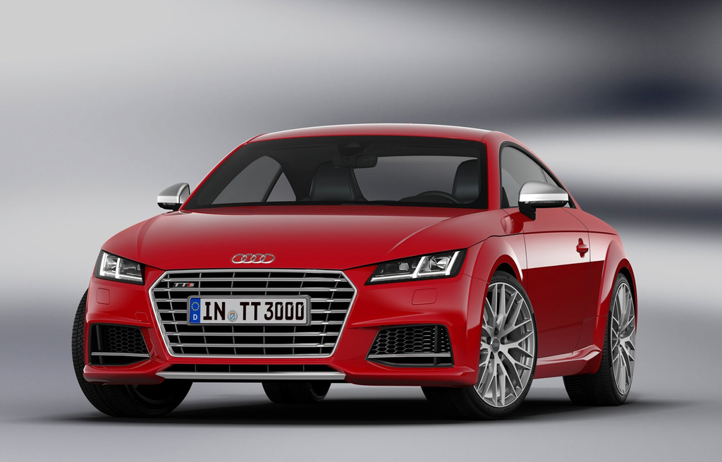2015 Audi TTS Coupe 1 Audi to bring out third generation TT and TTS in 2015