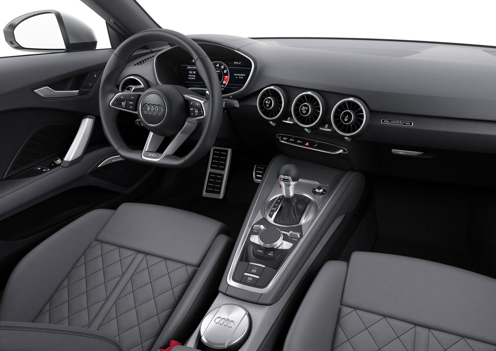 2015 Audi TTS Coupe Interior 4 Audi to bring out third generation TT and TTS in 2015