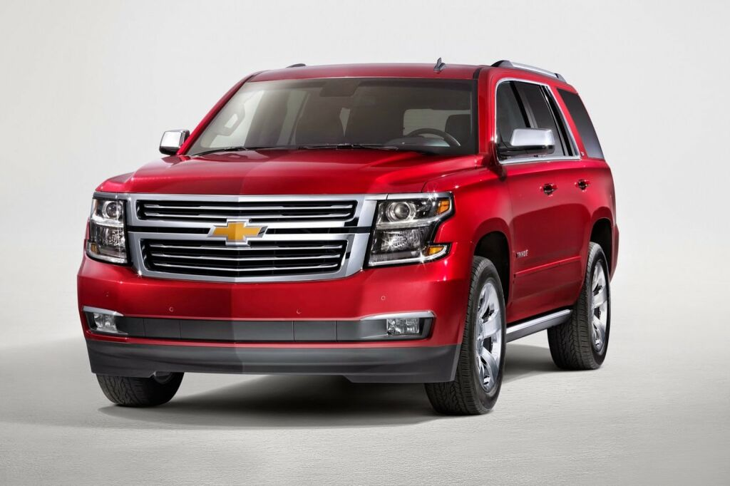 2015 Chevrolet Tahoe Z71 1 2015 Chevrolet Tahoe gets the Z71 touch