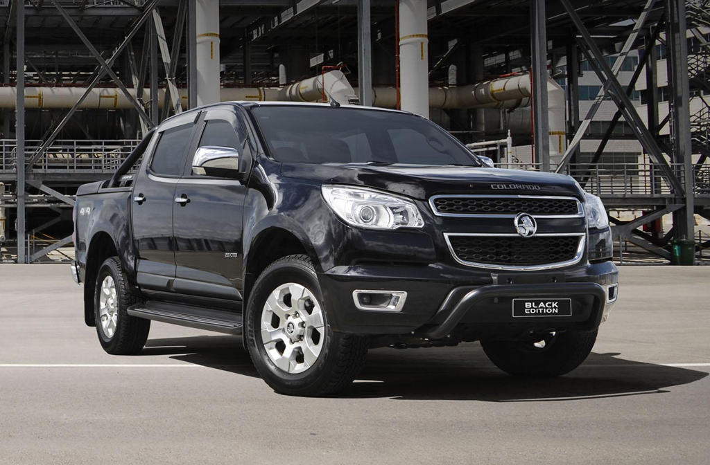 2015 Holden Colorado Black Edition Holden to launch the 2015 Black Colorado