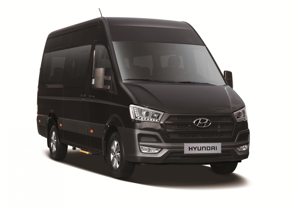 2015 Hyundai H350 Hyundai launches first ever 2015 H350 Cargo Van