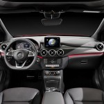 2015 Mercedes-Benz B-Class facelift Interior (2)