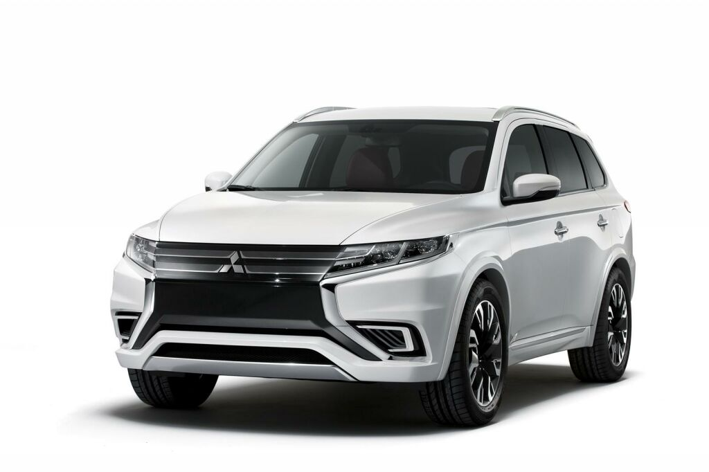 2015 Mitsubishi Outlander PHEV Concept S 1 Mitsubishi reveals new design package for 2015 Outlander PHEV
