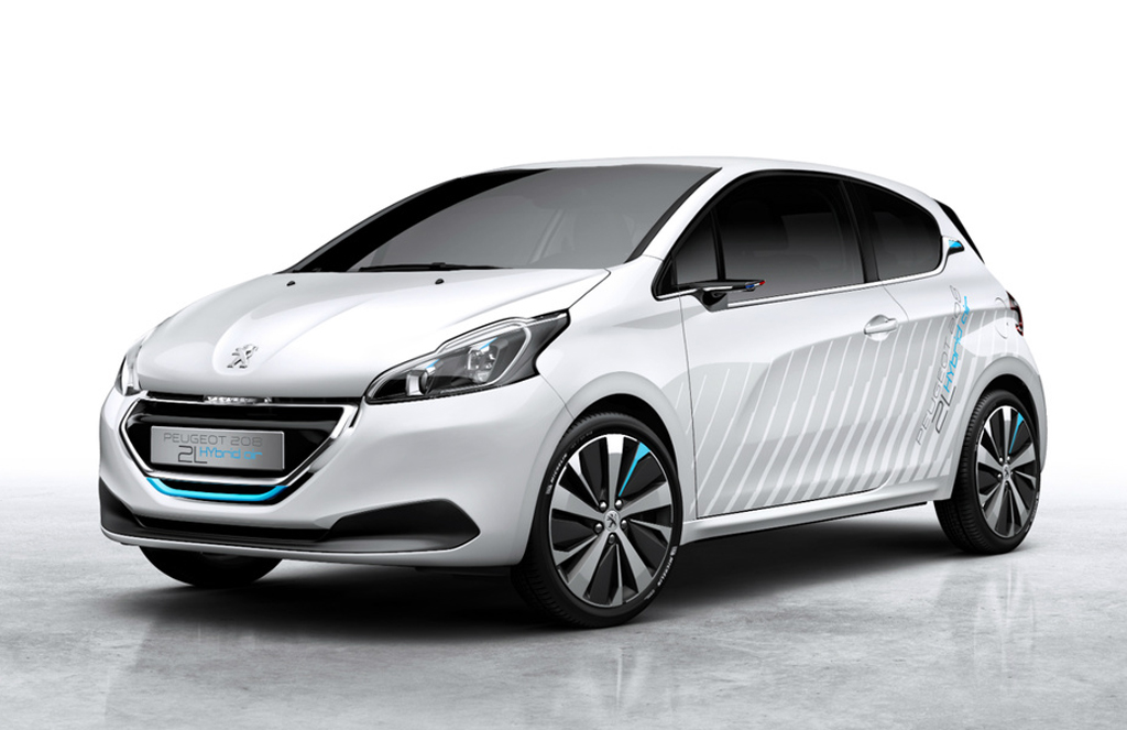2015 Peugeot 208 Hybrid Air 2L Peugeot to showcase '208 Hybrid Air 2L'