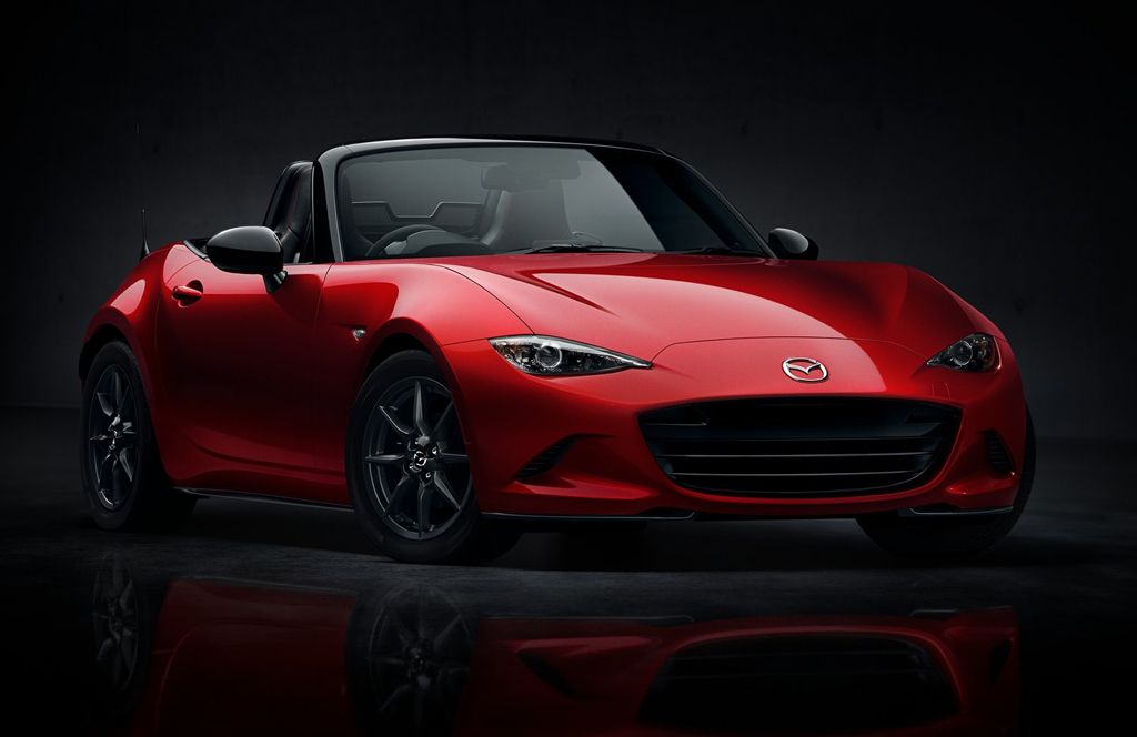 2016 Mazda MX 5 1 Fourth generation 2016 Mazda MX 5 unveiled