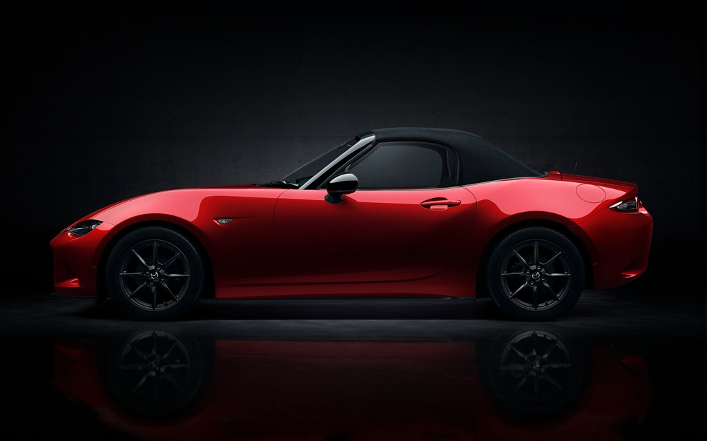 2016 Mazda MX 5 4 Fourth generation 2016 Mazda MX 5 unveiled