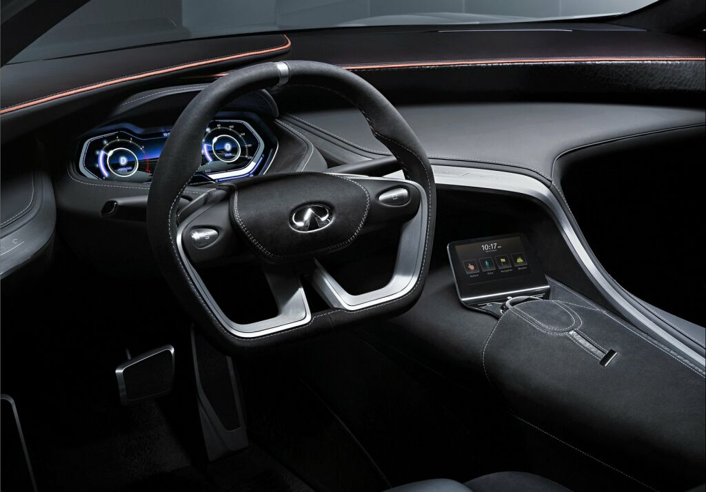 2014 Infiniti Q80 Inspiration Concept Interior 1 Infiniti debuts the 2014 Q80 in Paris