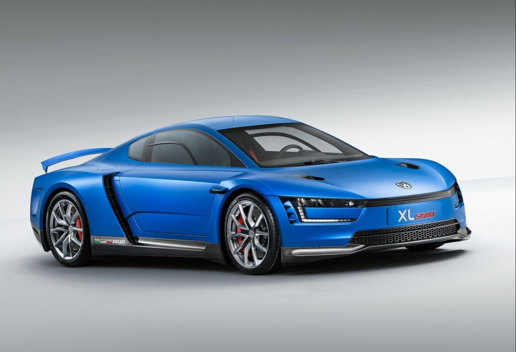 2014 Volkswagen XL Sport Concept 2 VW stuns with new 2014 XL Sports Concept