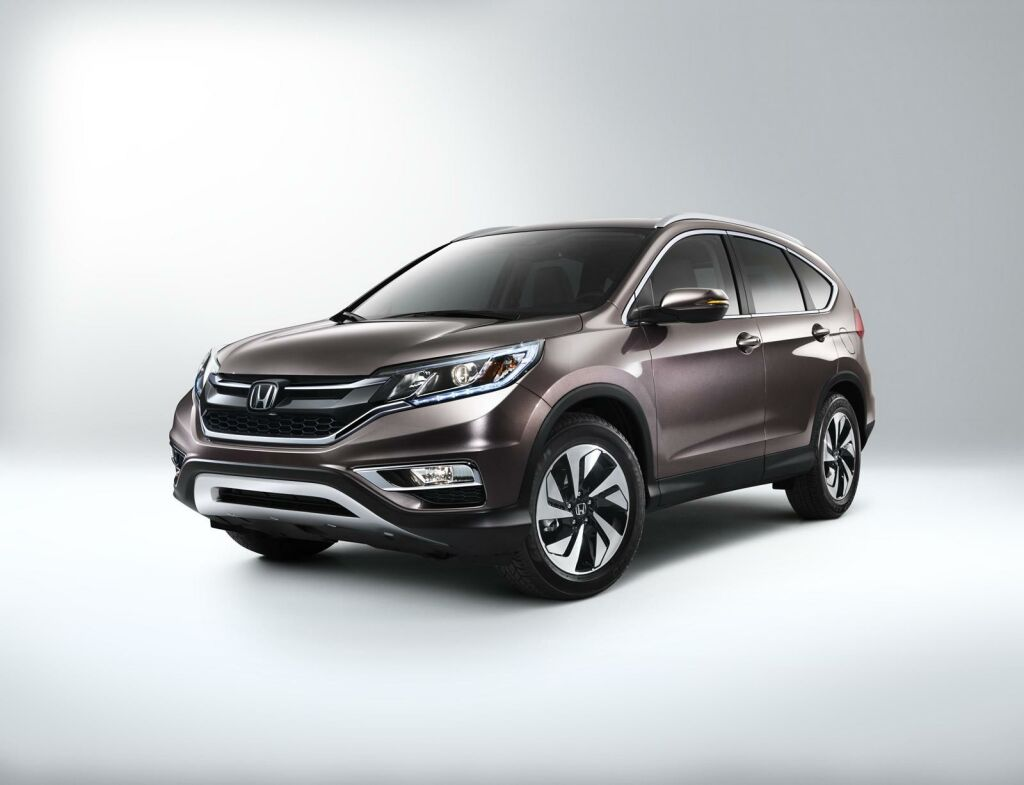 2015 Honda CR V facelift 2 Honda spices up the CR V for 2015