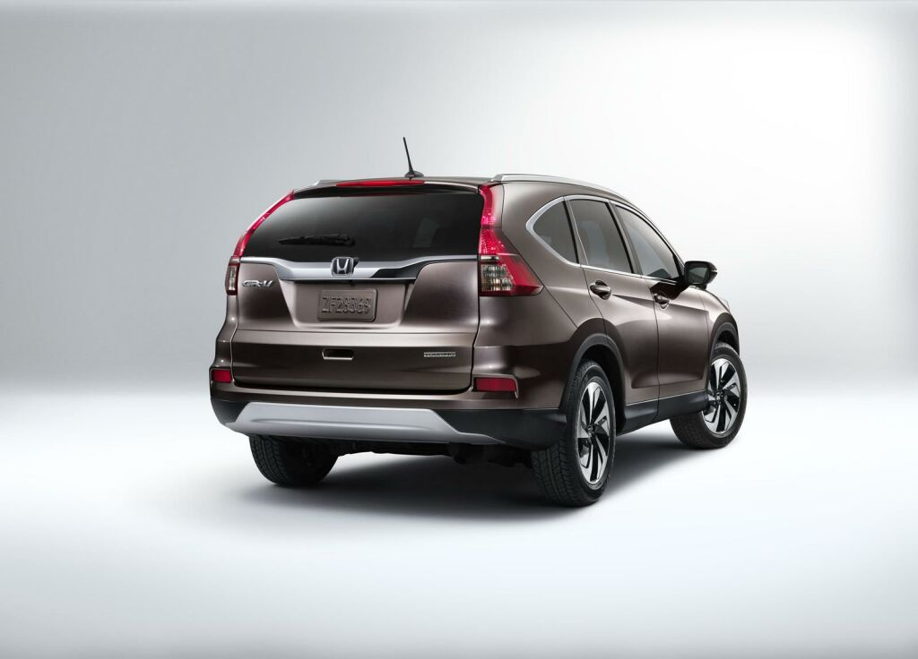 2015 Honda CR V facelift 6 Honda spices up the CR V for 2015