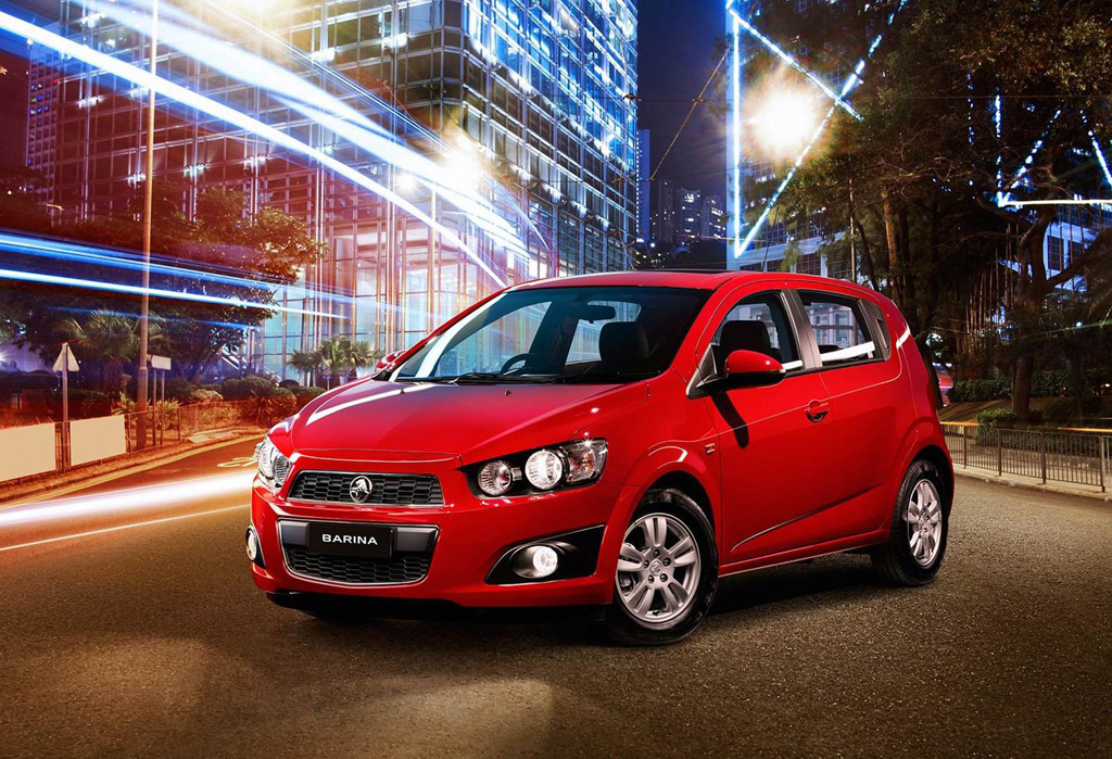 Holden Barina Hatch CD Trio 1 Holden reveals limited edition 'Barina Trio'