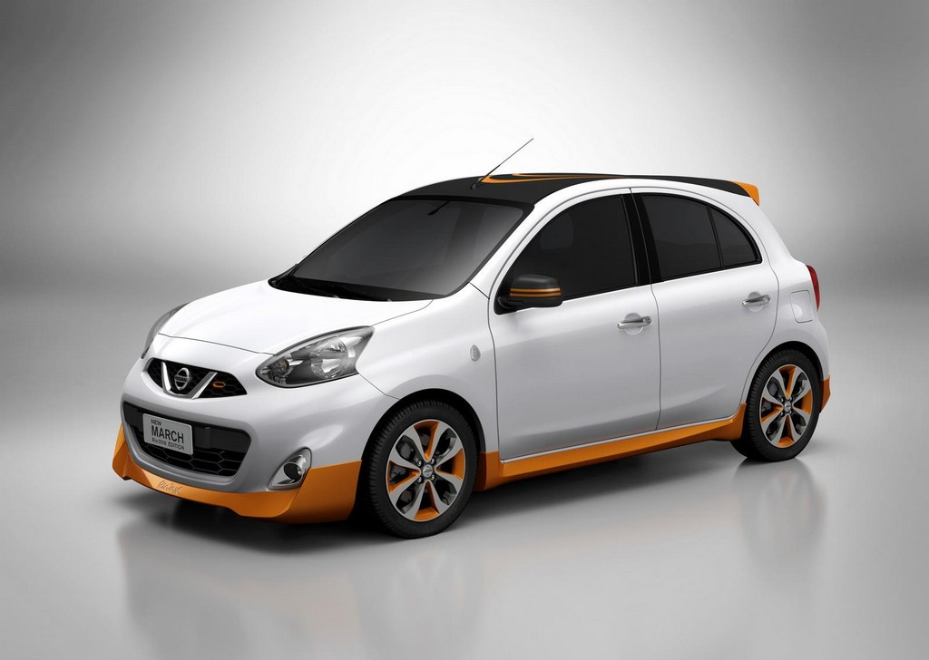 Nissan March Rio 2016 Edition 2 Nissan reveals the March Rio 2016 special edition