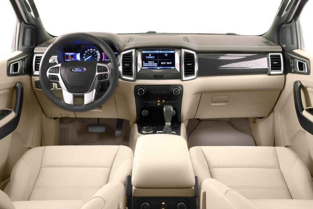 2015 Ford Everest Interior 3 2015 Ford Everest SUV features and photos