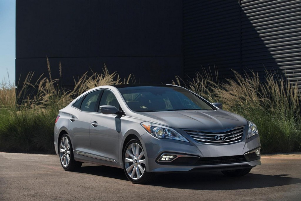 2015 Hyundai Azera facelift US spec 2015 Hyundai Azera revealed