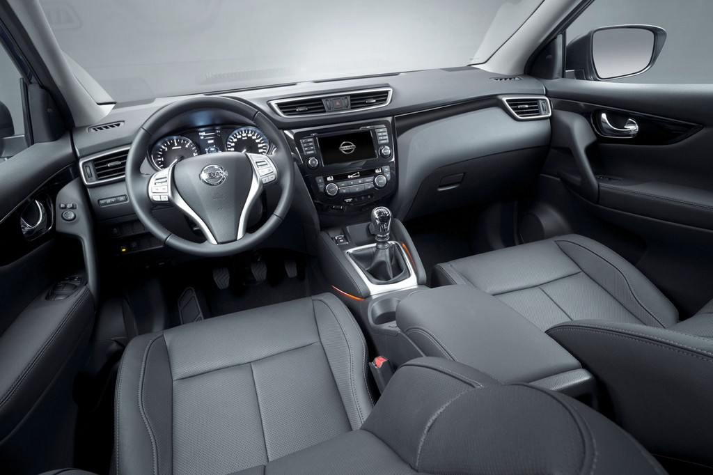 2015 Nissan Qashqai Interior 1 Nissan updates the 'Qashqai' for 2015 model year