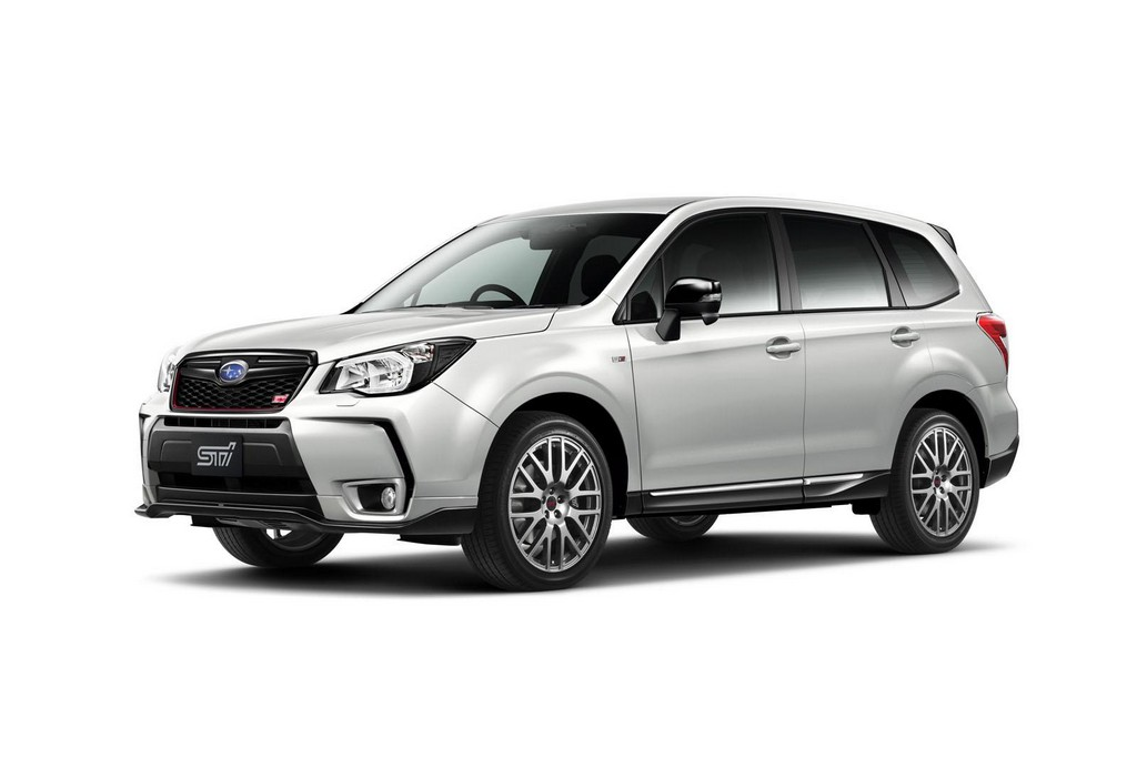 2015 Subaru Forester TS 1 2015 Subaru Forester TS SUV launched in Japan