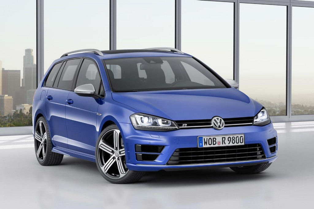 2015 Volkswagen Golf R Variant 1 2015 Volkswagen Golf R Variant Launched ahead of LA auto show