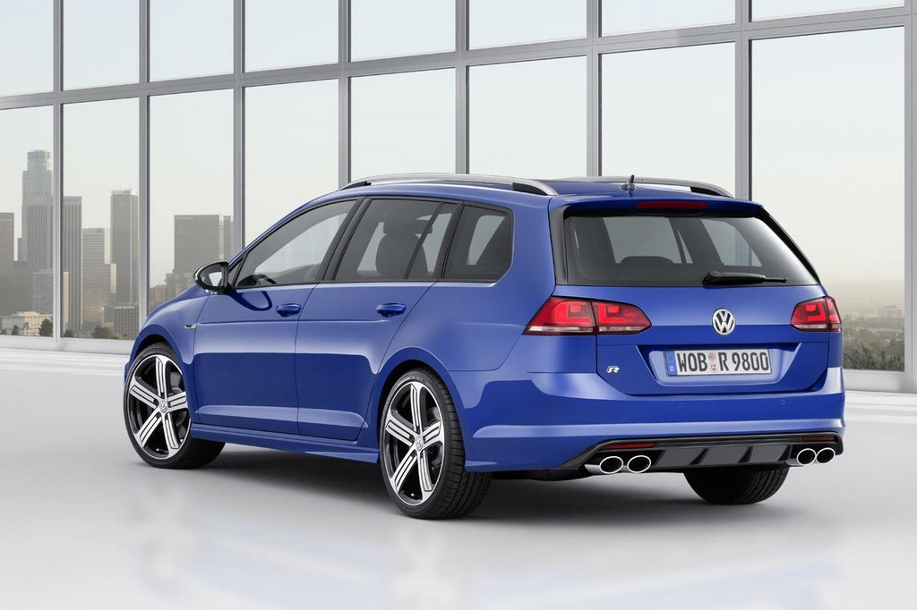 2015 Volkswagen Golf R Variant 4 2015 Volkswagen Golf R Variant Launched ahead of LA auto show