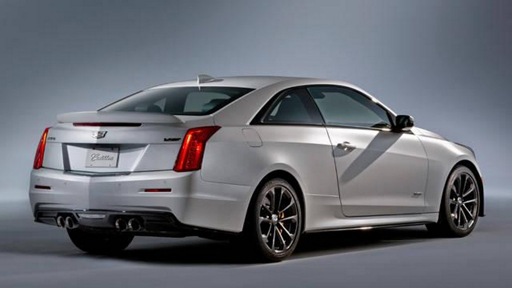 2016 Cadillac ATS V Coupe 3 2016 Cadillac ATS V Coupe Exterior and Interior features