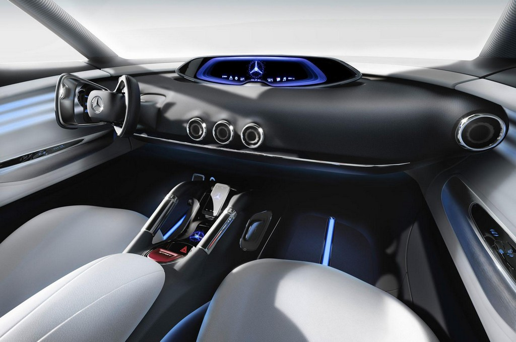 Mercedes Benz G Code Concept Interior 1 Mercedes reveals the futuristic 2014 'G Code' concept