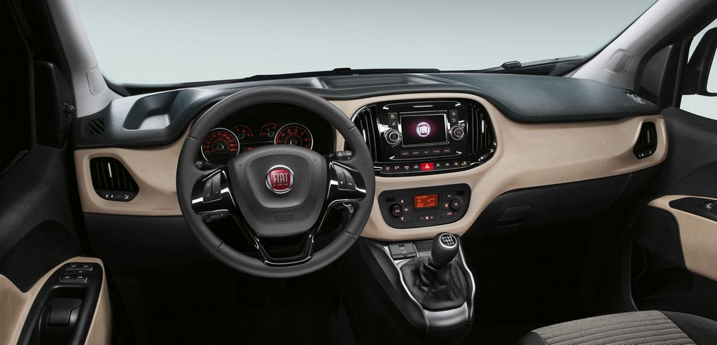 2015 Fiat Doblo Interior 2 Fiat Doblo 2015 with some new features
