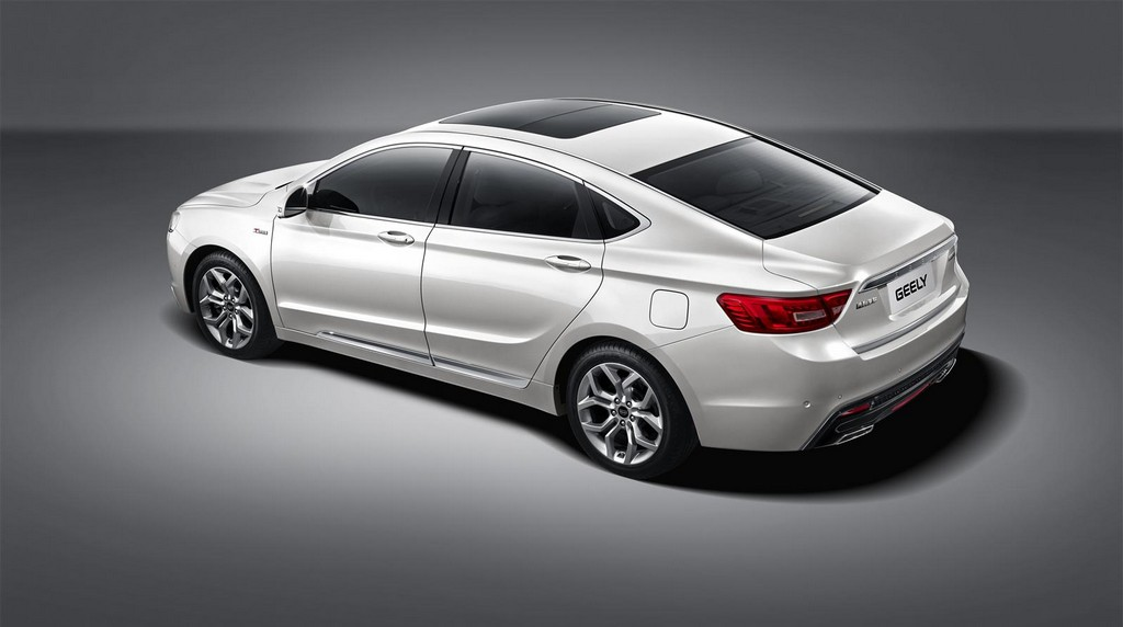 2015 Geely GC9 3 2015 Geely GC9 to be unveiled on 15 December: