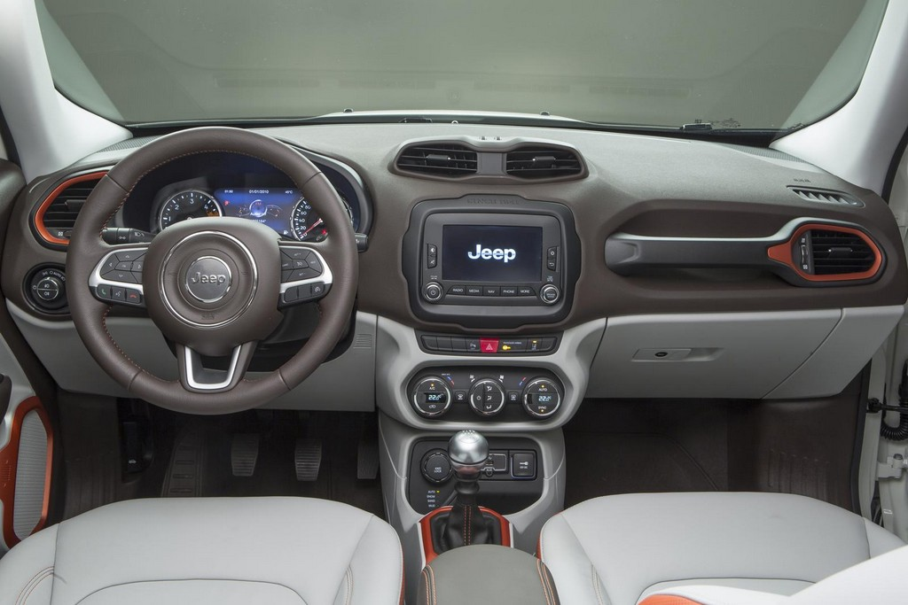 2015 Jeep Renegade Interior 8 2015 Jeep Renegade: Get Ready for adventure as pricing announced
