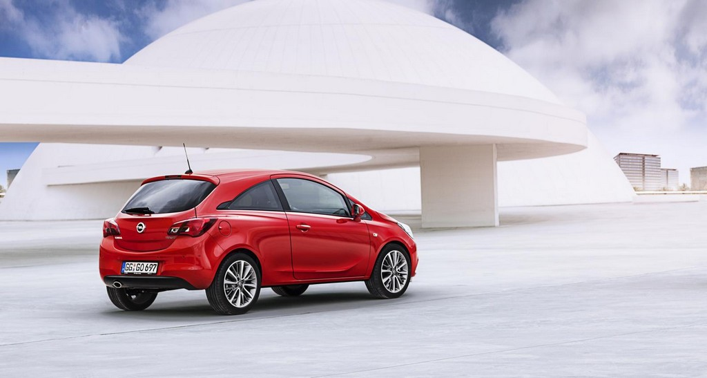 2015 Opel Corsa 4 2015 Opel Corsa features and details
