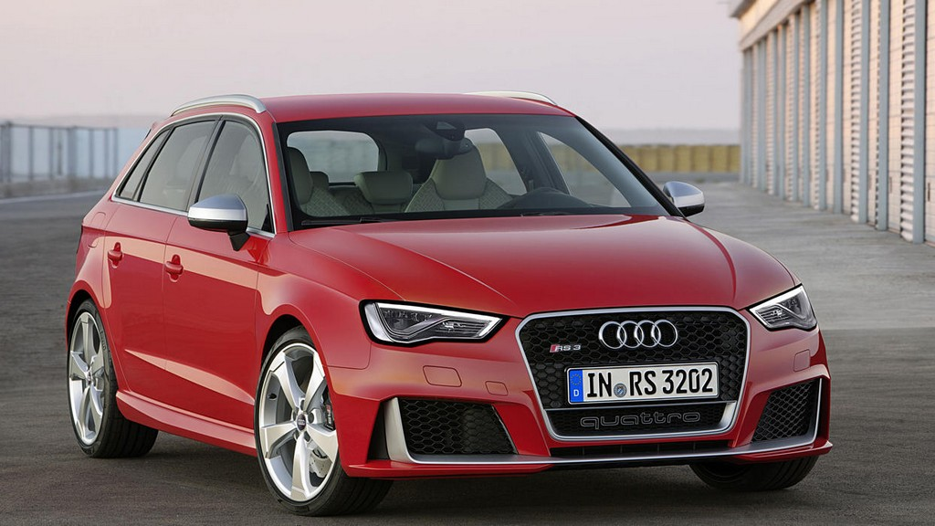 2016 Audi RS3 Sportback 1 2016 Audi RS3 Sportback First Look