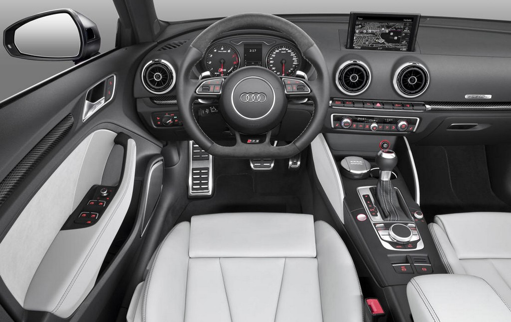 2016 Audi RS3 Sportback Interior 2016 Audi RS3 Sportback First Look
