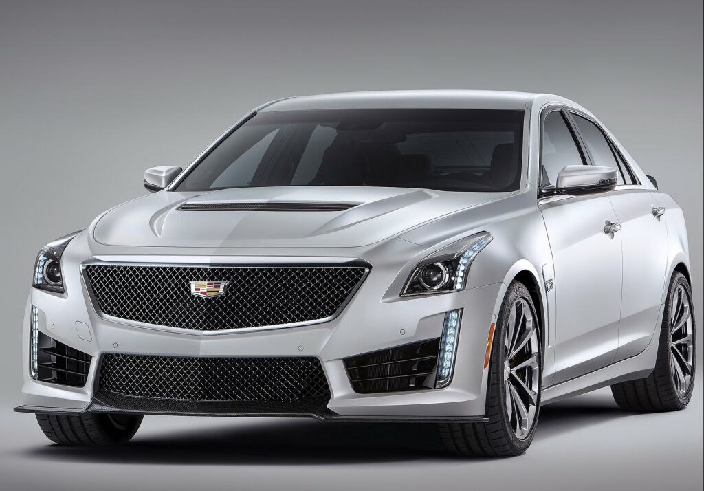 2016 Cadillac CTS V 1 2016 Cadillac CTS V: Features and details