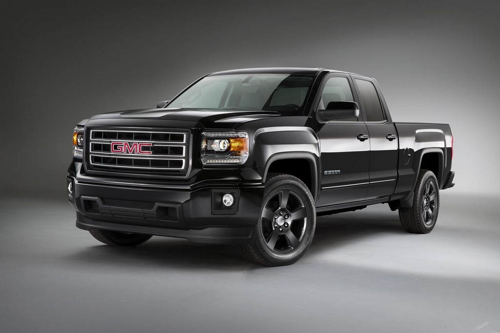2015 GMC Sierra Elevation Edition 12 2015 Chevrolet Silverado Midnight Edition